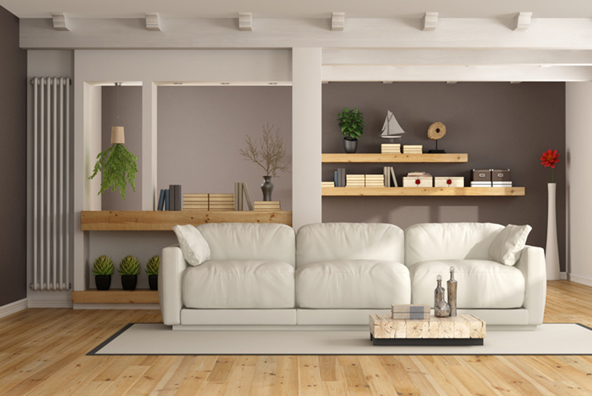 Raumgestaltung, Bodenbeläge, Tapeten und mehr